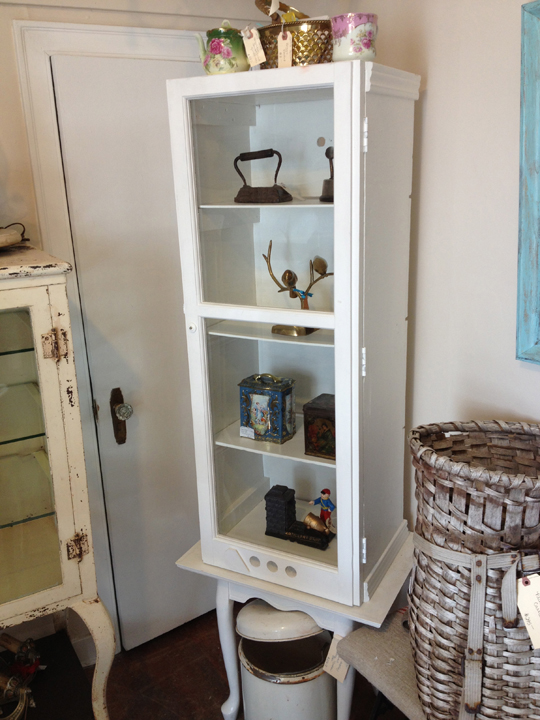 Window turned into a cabinet