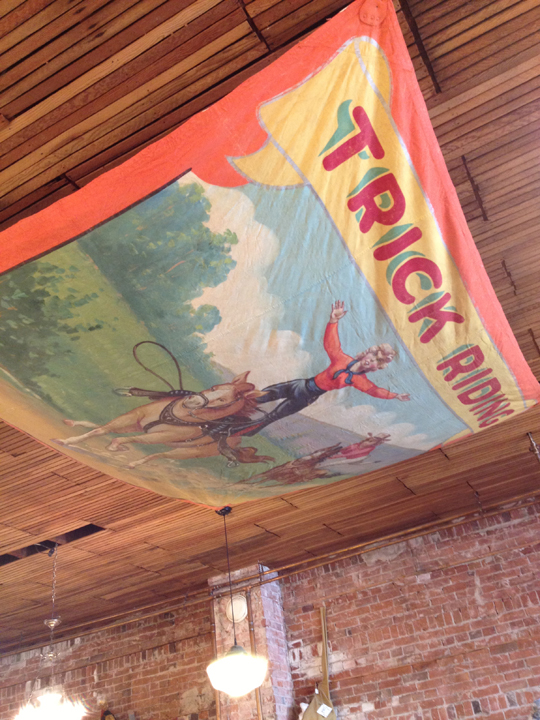 Trick Riding banner