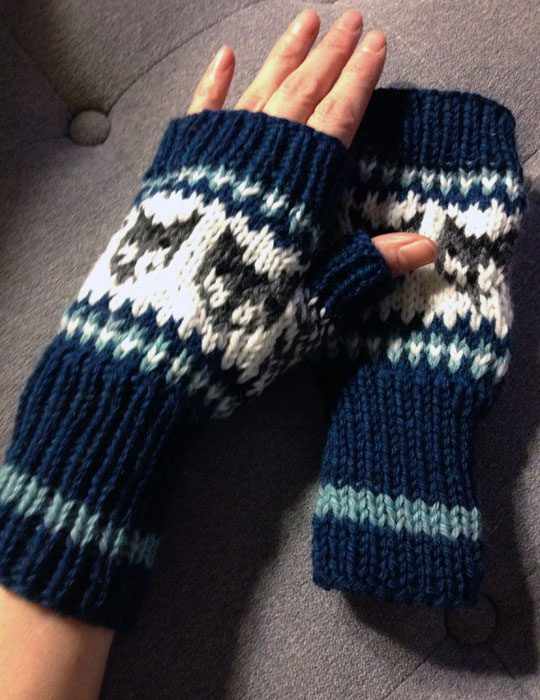 wolf mitts